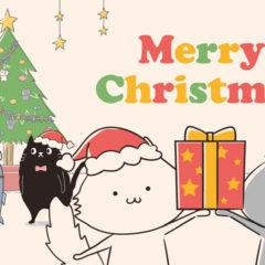 ねこたちのクリスマス会